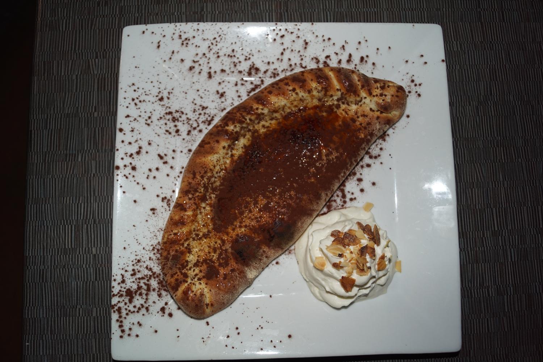 Restaurant italien limoges la gondole Pantofola nutella 1