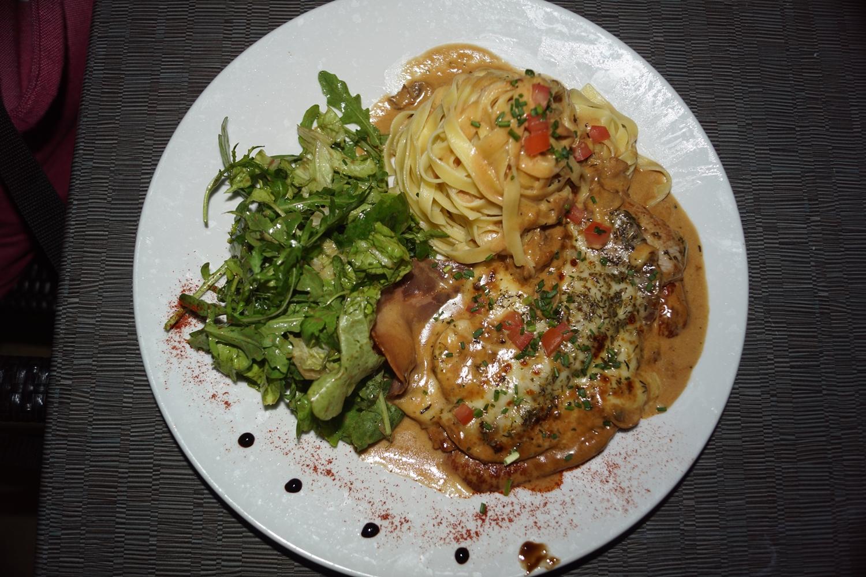 Restaurant italien limoges la gondole Scaloppine alla siciliana